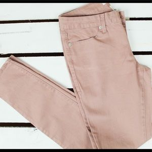 Muted Pink Skinny Pants 💕 Size 7